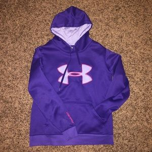 Dark Purple Under Armour Sweater